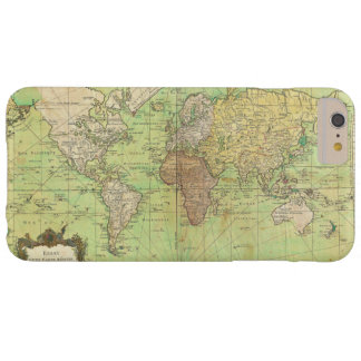 1778 Bellin Nautical Chart or Map of the World Barely There iPhone 6 Plus Case
