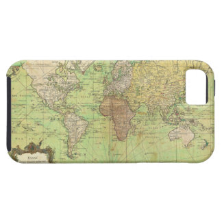 1778 Bellin Nautical Chart or Map of the World iPhone SE/5/5s Case