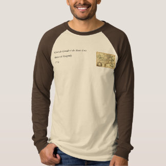 1778 Map of Canada and the United States T-Shirt