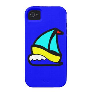 17791-sailboat-icon-vector CUTE CARTOON SAILBOAT W iPhone 4/4S Covers
