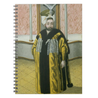 1779-1808) sultanes de Mustapha IV (1807-8, 'de un Spiral Notebook