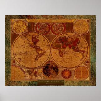 1780 Carington Bowles Old World Map Art & border Poster