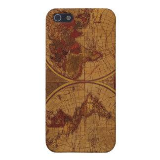 1780 Carrington Bowles World Map iPhone 4 Case
