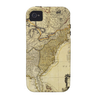 1784 Map of the United States of America by Faden iPhone 4/4S Cases