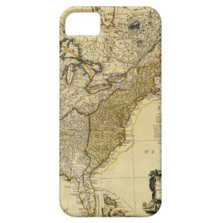 1784 Map of the United States of America by Faden iPhone 5 Case