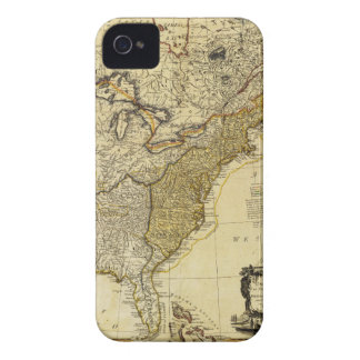 1784 Map of the United States of America by Faden iPhone 4 Case-Mate Cases