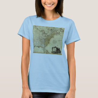 1784 Map of the United States of America by Faden T-Shirt