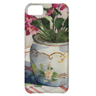 1790 African Violets in Blue Pot Case For iPhone 5C