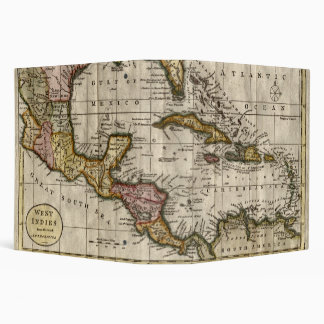1790 Map of The West Indies by Dilly and Robinson 3 Ring Binder