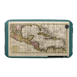 1790 Map of The West Indies by Dilly and Robinson iPhone 3 Case-Mate Cases