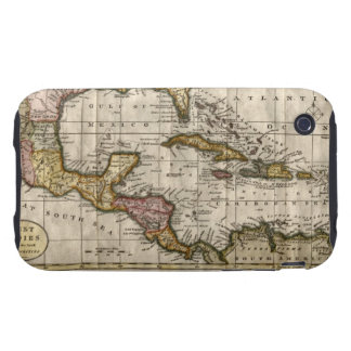 1790 Map of The West Indies by Dilly and Robinson Tough iPhone 3 Case