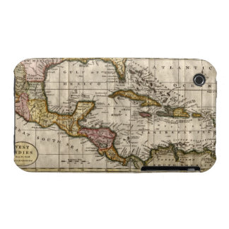 1790 Map of The West Indies by Dilly and Robinson Case-Mate iPhone 3 Cases