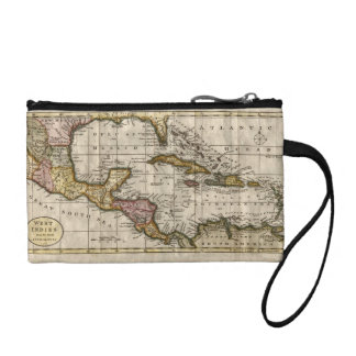 1790 Map of The West Indies by Dilly and Robinson Coin Purse
