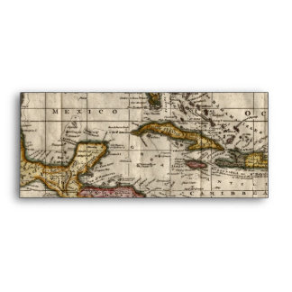 1790 Map of The West Indies by Dilly and Robinson Envelopes