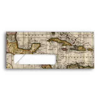 1790 Map of The West Indies by Dilly and Robinson Envelope