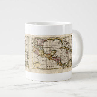 1790 Map of The West Indies by Dilly and Robinson Giant Coffee Mug