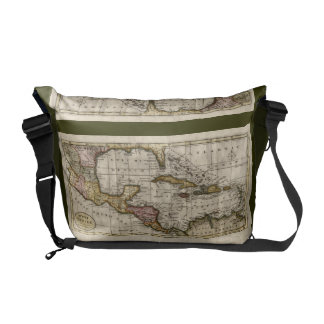 1790 Map of The West Indies by Dilly and Robinson Messenger Bag