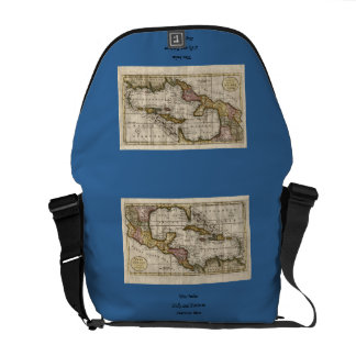 1790 Map of The West Indies by Dilly and Robinson Commuter Bag