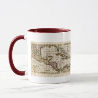 1790 Map of The West Indies by Dilly and Robinson Mug