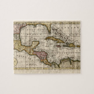 1790 Map of The West Indies by Dilly and Robinson Jigsaw Puzzle