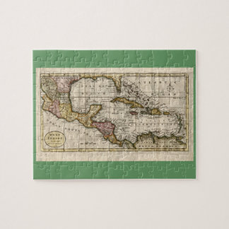 1790 Map of The West Indies by Dilly and Robinson Puzzles