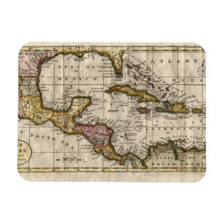 1790 Map of The West Indies by Dilly and Robinson Rectangular Photo Magnet