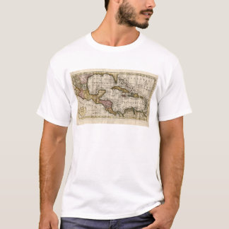 1790 Map of The West Indies by Dilly and Robinson T-Shirt