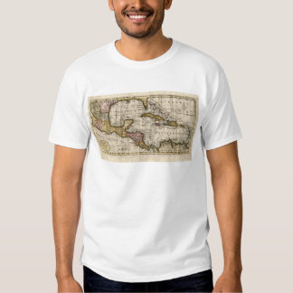 1790 Map of The West Indies by Dilly and Robinson Tee Shirt