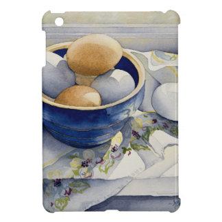 1791 Eggs in Blue Bowl iPad Mini Covers