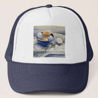 1791 Eggs in Blue Bowl Trucker Hat