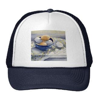 1791 huevos en cuenco azul gorra