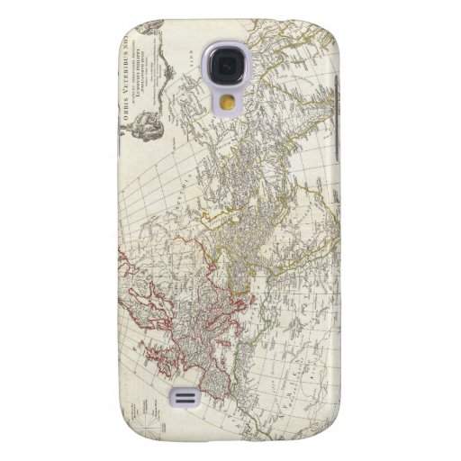 1794 Anville Map of the Ancient World Samsung Galaxy S4 Covers