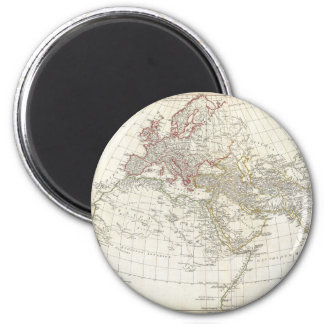 1794 Anville Map of the Ancient World 2 Inch Round Magnet