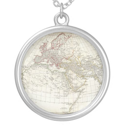 1794 Anville Map of the Ancient World Pendant