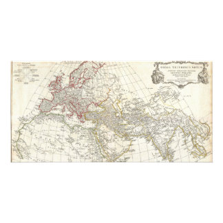 1794 Anville Map of the Ancient World Photo Card