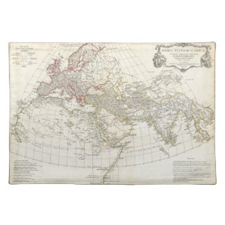 1794 Anville Map of the Ancient World Cloth Placemat