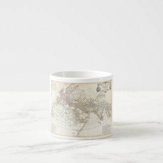 1794 Anville Map of the Ancient World 6 Oz Ceramic Espresso Cup