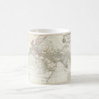 1794 Anville Map Orbis Veteribus Notus Classic White Coffee Mug