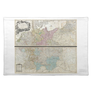 1794 Delarochette Map of the Empire of Germany Place Mat