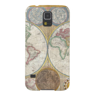 1794 Double Hemisphere Map Galaxy S5 Cover