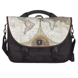 1794 Double Hemisphere Map Laptop Bag