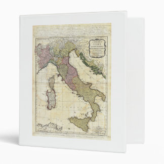 1794 Jean Baptiste Bourguignon D'Anville Italy Map Binder