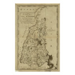 1794 Map of New Hampshire Posters