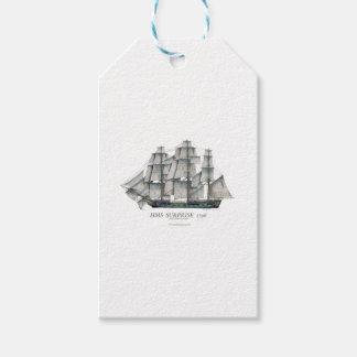 1796 HMS Surprise art Gift Tags