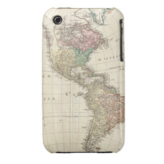 1796 Mannert Map of North and South America iPhone 3 Cover
