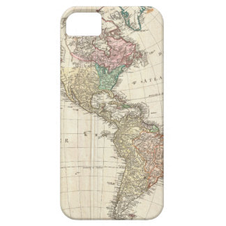 1796 Mannert Map of North and South America iPhone 5 Case