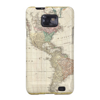 1796 Mannert Map of North and South America Samsung Galaxy Covers
