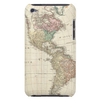 1796 Mannert Map of North and South America iPod Touch Covers
