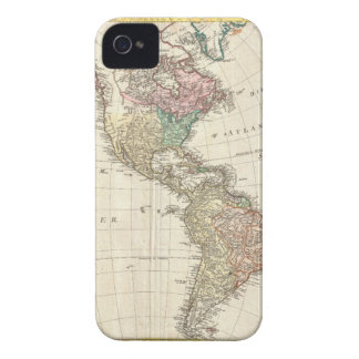 1796 Mannert Map of North and South America iPhone 4 Cover