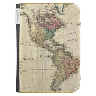 1796 Mannert Map of North and South America Kindle Case